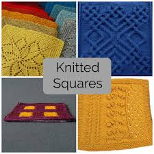 Mix and Match These Knitted Squares for Any Project & Mix & Match These 9 Knitted Squares for Any Project Adamdwight.com