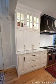 White And Black Kitchen Cabinets For A Home Located In Reisterstown