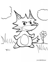 Small Picture Fox In Socks Printable Coloring Pages Fox Coloring Pictures Fox