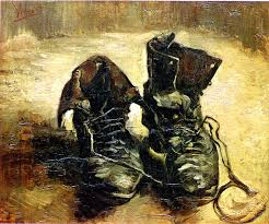 philosophers rumble over van gogh s shoes harper s magazine van gogh a pair of shoes