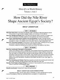 wh dbq nile student nile ancient