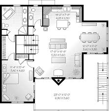 lake house plan second floor 032d 0587 house planore