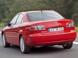 mazda 6 2005. mazda 6 facelift 2005 rear angle