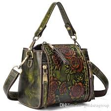 classical flower bag shoulder whole bride wedding handmade embossed bags cross luxury handbag tote women purse sg france usa eur rosetti handbags