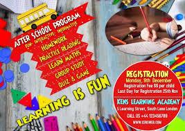 School Program Flyer Template Poster Postermywall