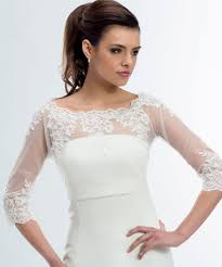 Emily Lace Wedding Bolero Lace Bridal Jacket