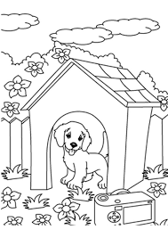 Puppy coloring pages allow children to color cute puppies, explore their creativity, and learn about different breeds of dogs. Coloring Pages Outdoor Puppy Coloring Pages