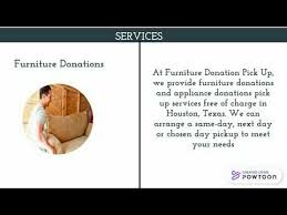 who picks up furniture for donation