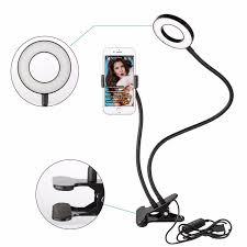 Ring Light For Phone Amazon Amazon Com Sokani Lazy Bracket Cell Phone Holder With