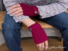 Crochet Gloves Pattern New Pattern Heartstrings Fingerless Gloves Kirsten Holloway Designs