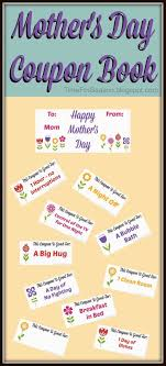 best ideas about coupon books mother s day mothers day coupon book printable mom gift for mother a time for seasons
