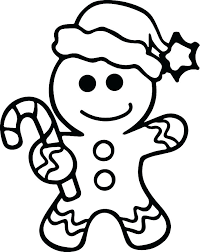 Gingerbread Man Coloring Man Coloring Gingerbread Man Coloring Pages