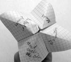 Image result for cootie catcher