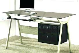 glass home office furniture desk modern excellent top table india