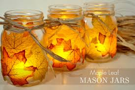 Zoom. From www.sparkandchemistry.com. Leaf Mason Jar Candle ...