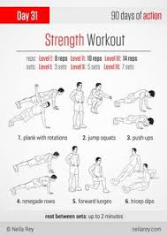 strength workout strength workout kettlebell body weight neila rey full body