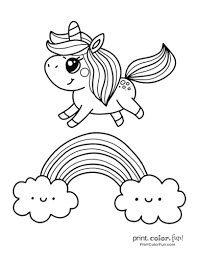 Zentangle stylized cartoon unicorn isolated on white background. Top 100 Magical Unicorn Coloring Pages The Ultimate Free Printable Collection Print Color Fun