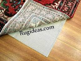 rug pad for hardwood floors how to secure your oriental rug from on rug pad for