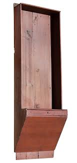 antique clock shelf wall shelf with wedge form case containing a drawer american anonymous maple and pine red paint sold
