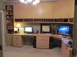 storage home office. Home Office In Maple - Left View Storage