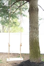 Tree Swing Old Fashion Diy Tree Swing Seeking Lavendar Lane