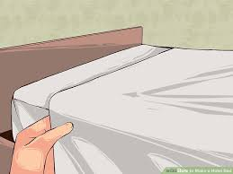 image titled make a hotel bed step 10