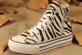 all star shoes for girls 2013. converse all star platform zebra print zipper chuck taylor high tops womens girls white black stripe shoes for 2013