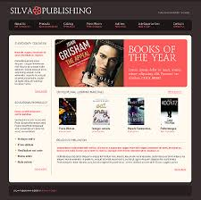 book publishing templates sixthlife 90 books stores reviews and weblog website templates