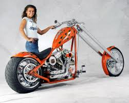 davidson custom chopper
