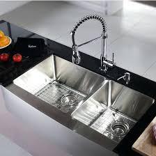 kraus stainless steel sinks. Perfect Kraus Kraus Kitchen Sinks Sink Set Stainless Steel Farmhouse  Reviews  Throughout Kraus Stainless Steel Sinks N
