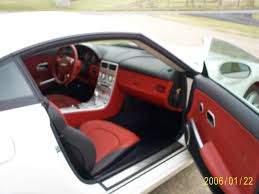 chrysler crossfire custom interior. chrysler crossfire interior 2 custom s