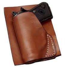 hunter holsters leather pocket holster for glock 42 with laser 2500 16