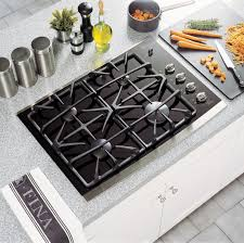 Gas Cooktop Glass Ge Profile Series Jgp940sekss 30 Built In Ceramic Glass Cooktop
