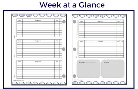 Planner Printables For Students Free Printable Student Planner Pages Lp Tutoring
