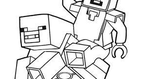 Stampabile Disegni Da Colorare Di Minecraft Da Stampare Disegni