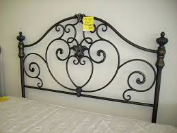 Black Metal King Size Headboard Black Metal Headboards Double Large Image  For Home Furniture Queen Size