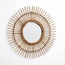 Small Picture Cilia Rattan Mirror Target Australia 63 BRL liked on Polyvore
