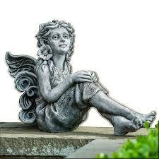 elinda cast stone garden statue