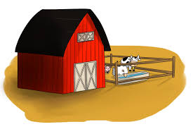 red barn clip art transparent. free barn with farm animals clip art red transparent t