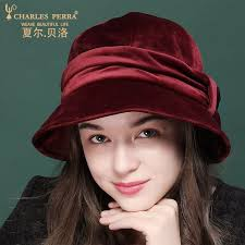 Comfortable Women Hat <b>Charles Perra</b> Lady <b>Bucket Hats</b> Female ...