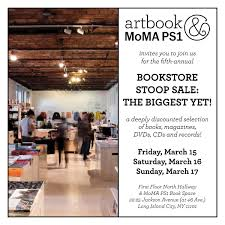 e to the artbook moma ps1 fifth annual book stoop the biggest yet