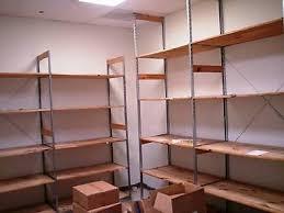 backroom shelving retail wood storage shelves used fixtures liquidation