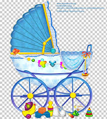 Boy Or Girl Baby Announcement Infant Girl Child Baby Announcement Boy Pram Baby Blue And
