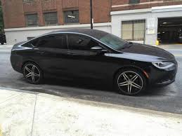 2015 Chrysler 200 Bolt Pattern