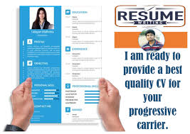 Create Design Rewrite Resume And Linkedin Profile For You For 5