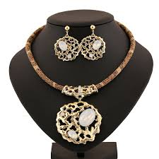 get ations fashion austria crystal turkey costume jewelry sets 18k gold plated india vine rhinestone wedding bridal necklace
