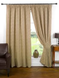 mosaic textured chenille look lined ready made curtain