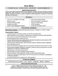 Medical Billing Resume Haadyaooverbayresort Com 5 Previou Peppapp