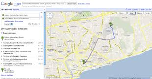 download driving direction google map  major tourist attractions maps