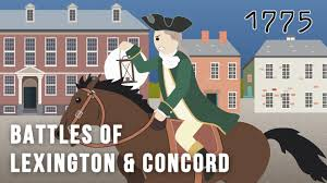 battles of lexington and concord the american battles of lexington and concord 19 1775 the american revolution